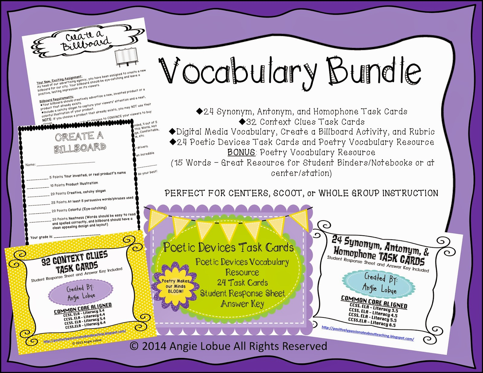 http://www.teacherspayteachers.com/Product/Vocabulary-Bundle-Task-Cards-and-Activities-SAVE-25-1078244