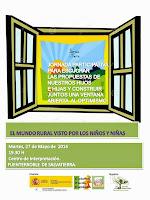27/Mayo. Jornada participativa: El mundo rural visto por los niños y niñas. Fuenterroble de Salvatierra