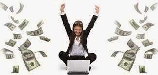 заработок в интернете не выходя из дома картинка