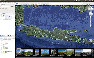 Google Earth di Ubuntu