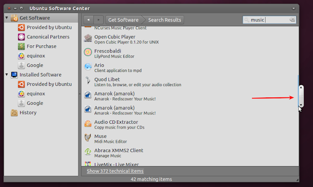 Ubuntu 11.04 Natty Narwhal sliders