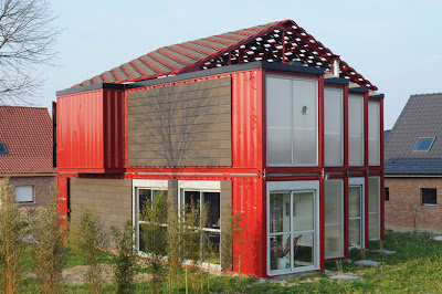 Shipping container homes patrick partouche maison container lille france - Architecte maison container ...