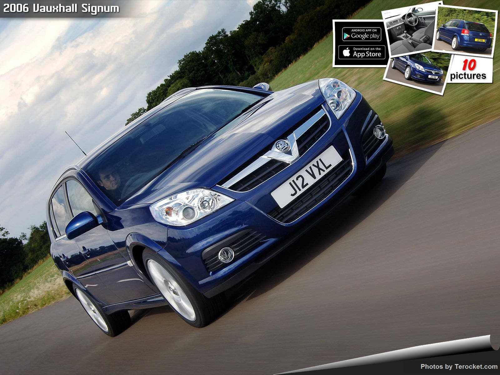 Hình ảnh xe ô tô Vauxhall Signum 2006 & nội ngoại thất