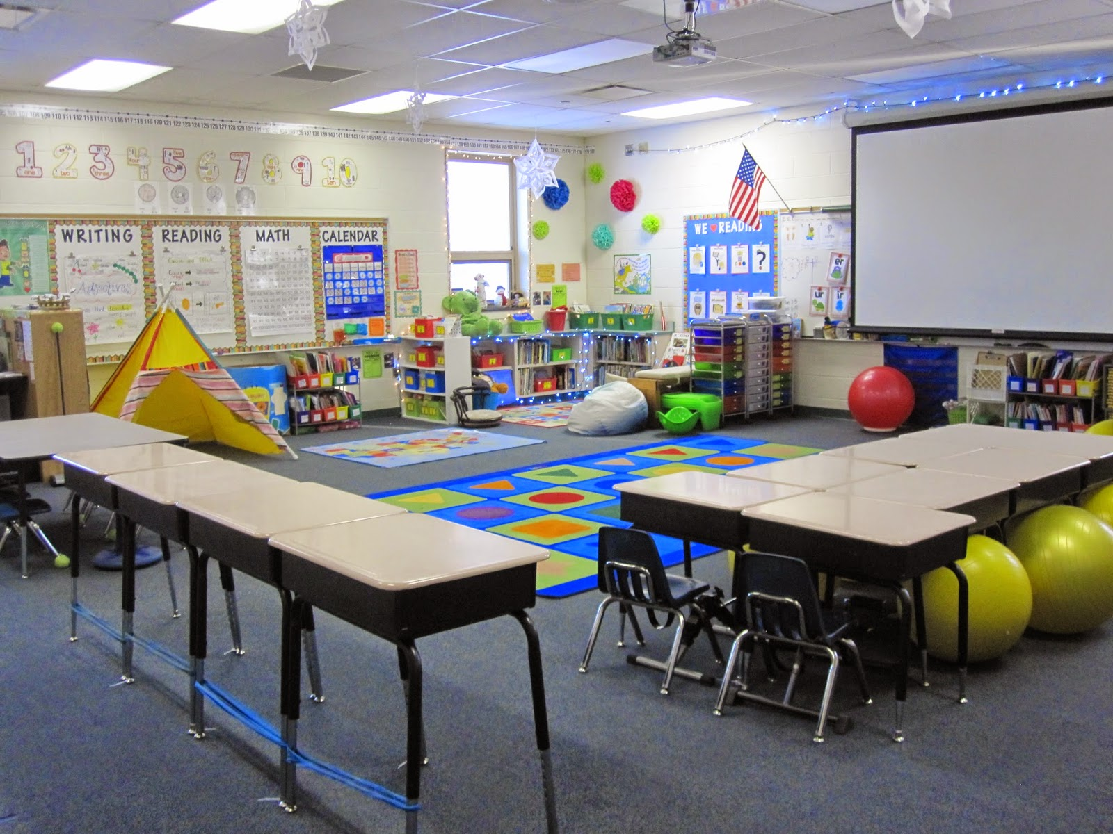 Check out my Classroom Shine on in First Grade