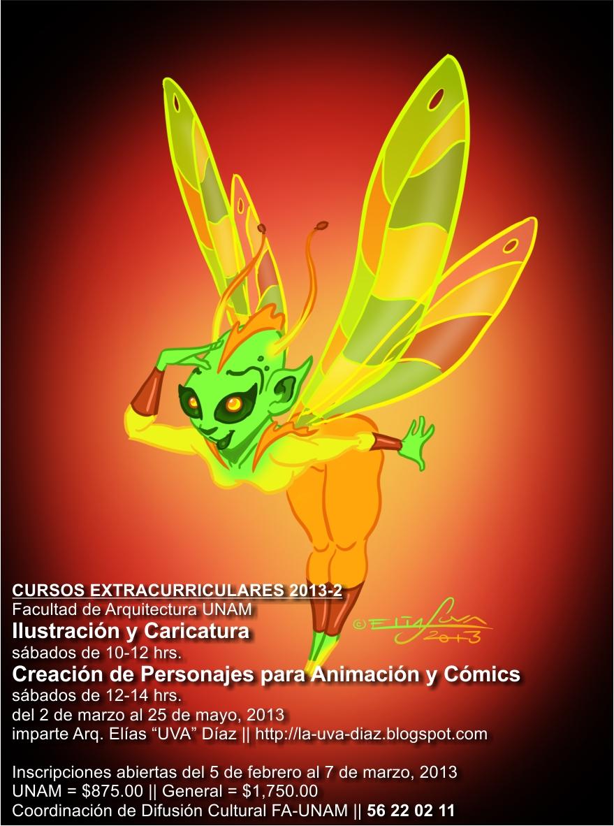 El as uva d az illustration character design for Cursos facultad de arquitectura