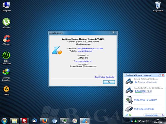 Zentimo xStorage Manager 1.7.5 Full Keygen