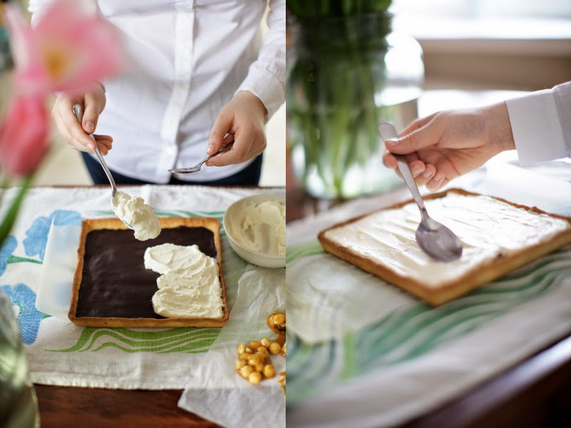 tarta czekoladowa z rozmarynem