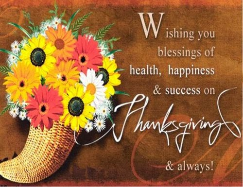 Best Happy Thanksgiving Day Wishes