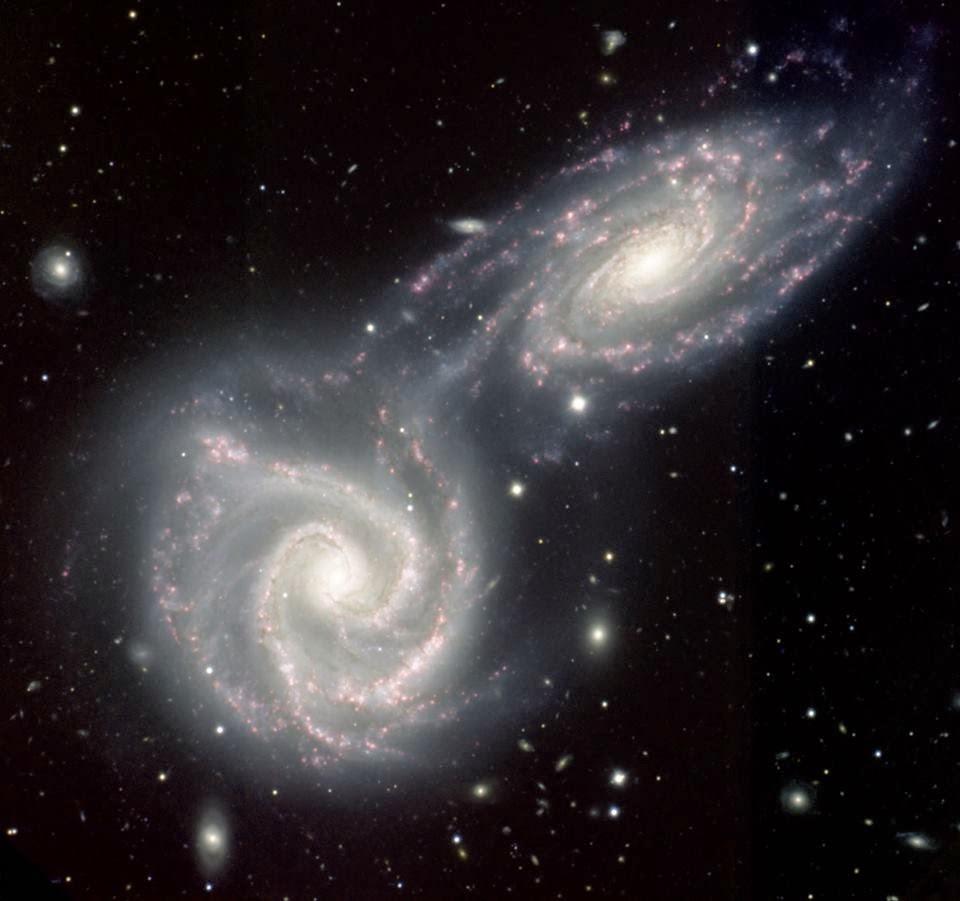 Arp 271'in Çarpışan Sarmal Gökadaları