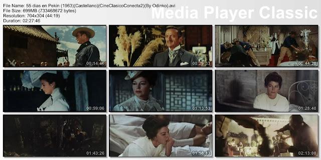 55 días en Pekín (1963) | capturas de pantalla