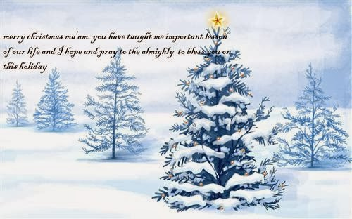 Best Christmas Messages For Teachers 2013