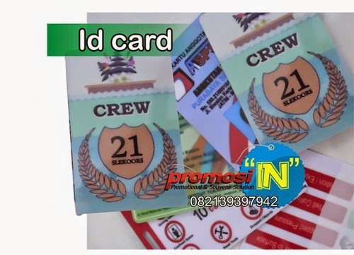ID Card, ID Card Promosi Murah, Jual ID Card Promosi, Kartu Identitas Souvenir, ID Card Sablon, Kartu Nama Press