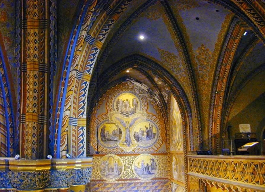 la iglesia de san matias: