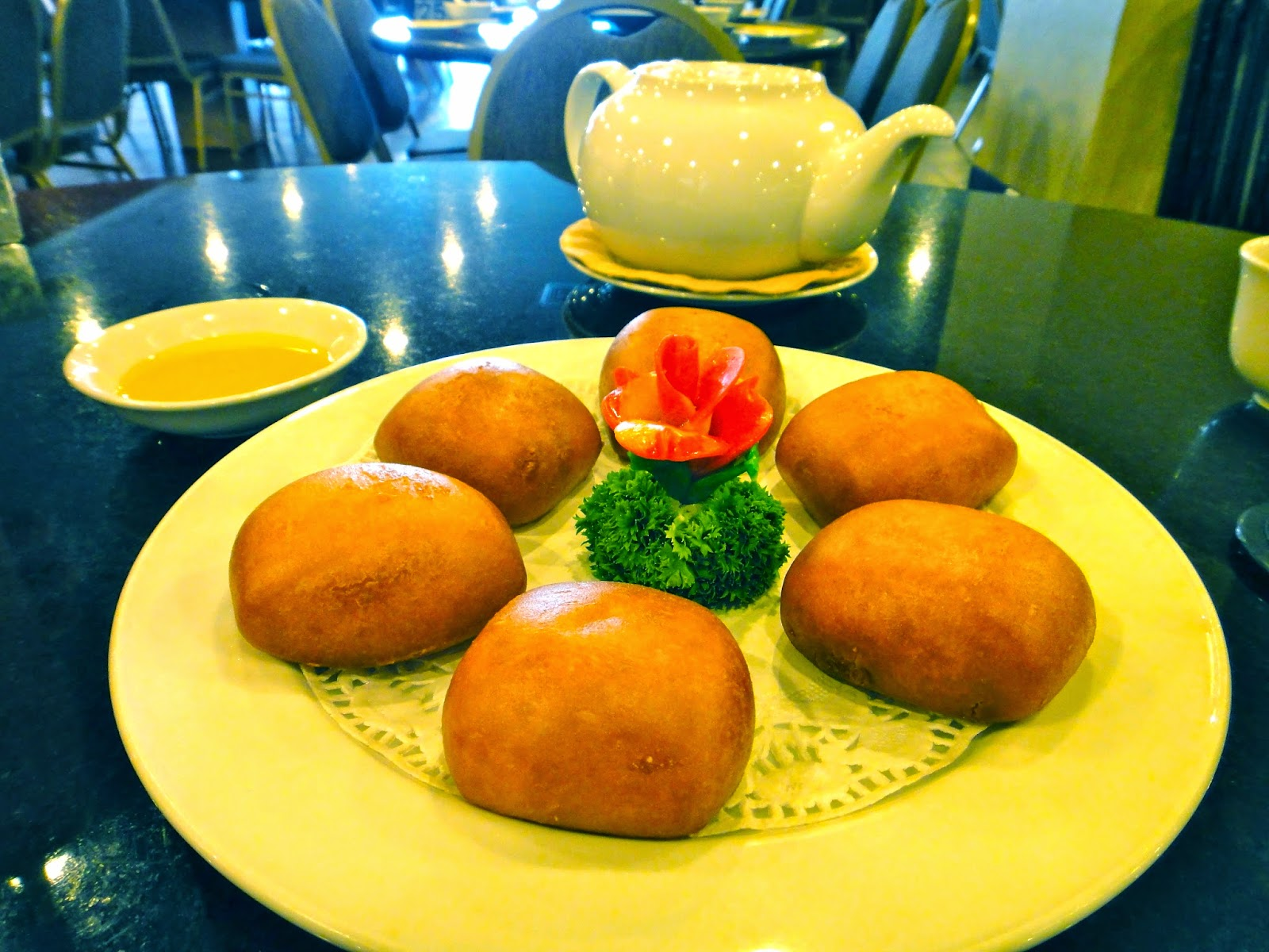 Fried mantou may star restaurant central park mall