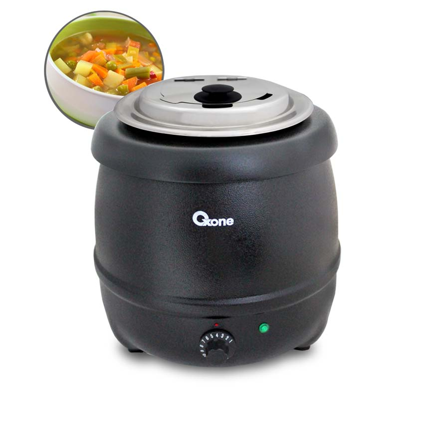 OX-716 Oxone Electric Soup Kettle 400W - 10Lt