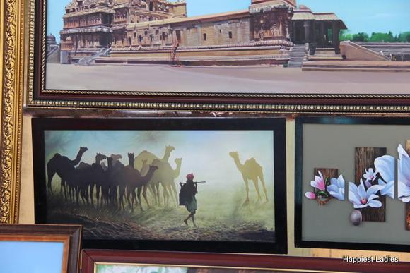desert life india painting
