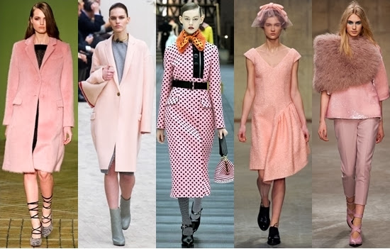 Soft rose pink color dresses in trend