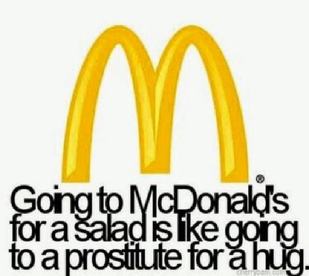 McDonald's & protistute