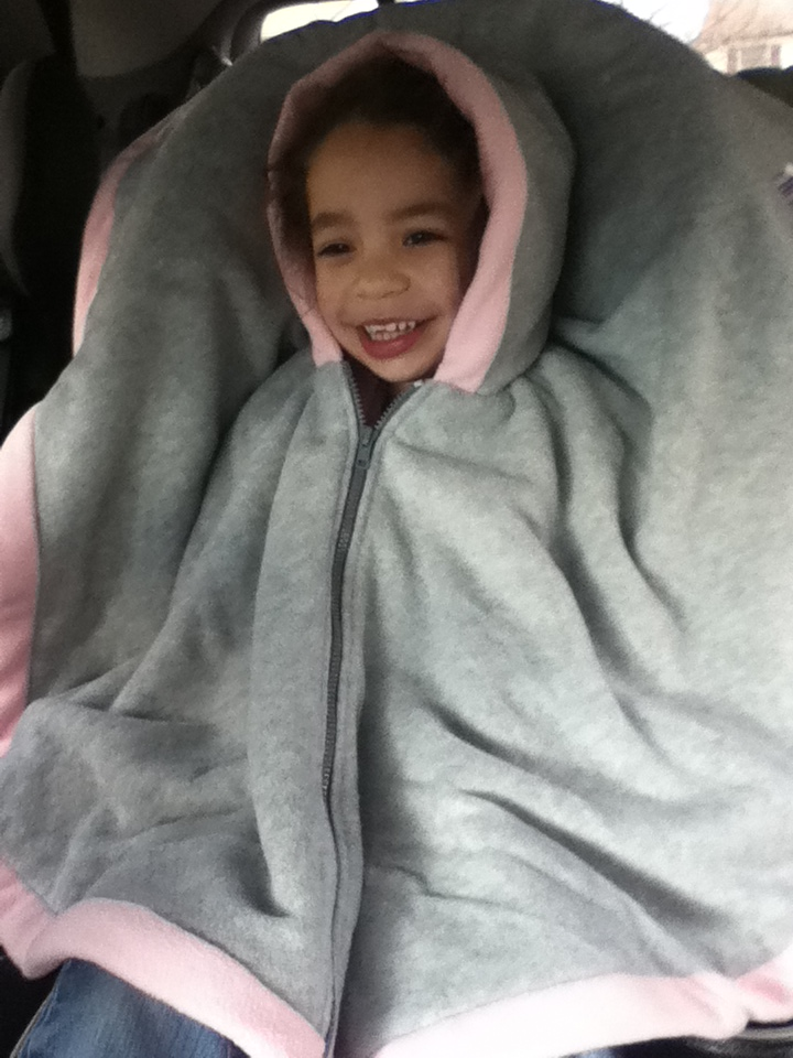 Carseatnanny Carseat Poncho Review