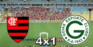 Flamengo 4x1 Goiás