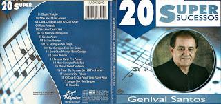 CD Genival Santos – 20 Super Sucessos