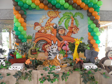 Festa Safari do Lucas