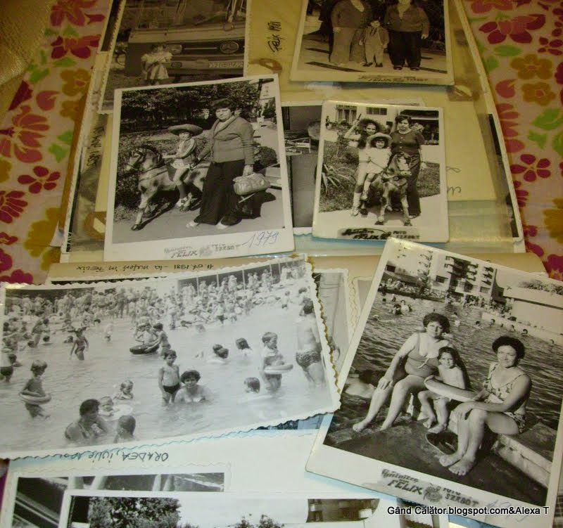 Back in the years of childhood at Felix via images captured in photo instants.