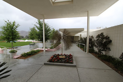 View to guest house at Sunnylands