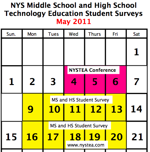 CNYTEEA: Get Your Students to Participate: 2011 Student ...