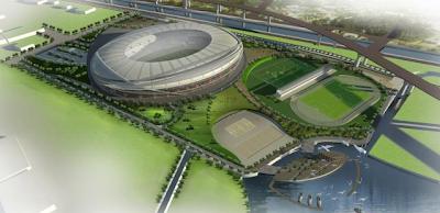 3D Site Plan Stadion BMW Jakarta