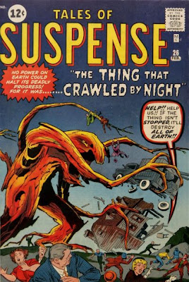 Tales of Suspense #26, the thing that crawled by night