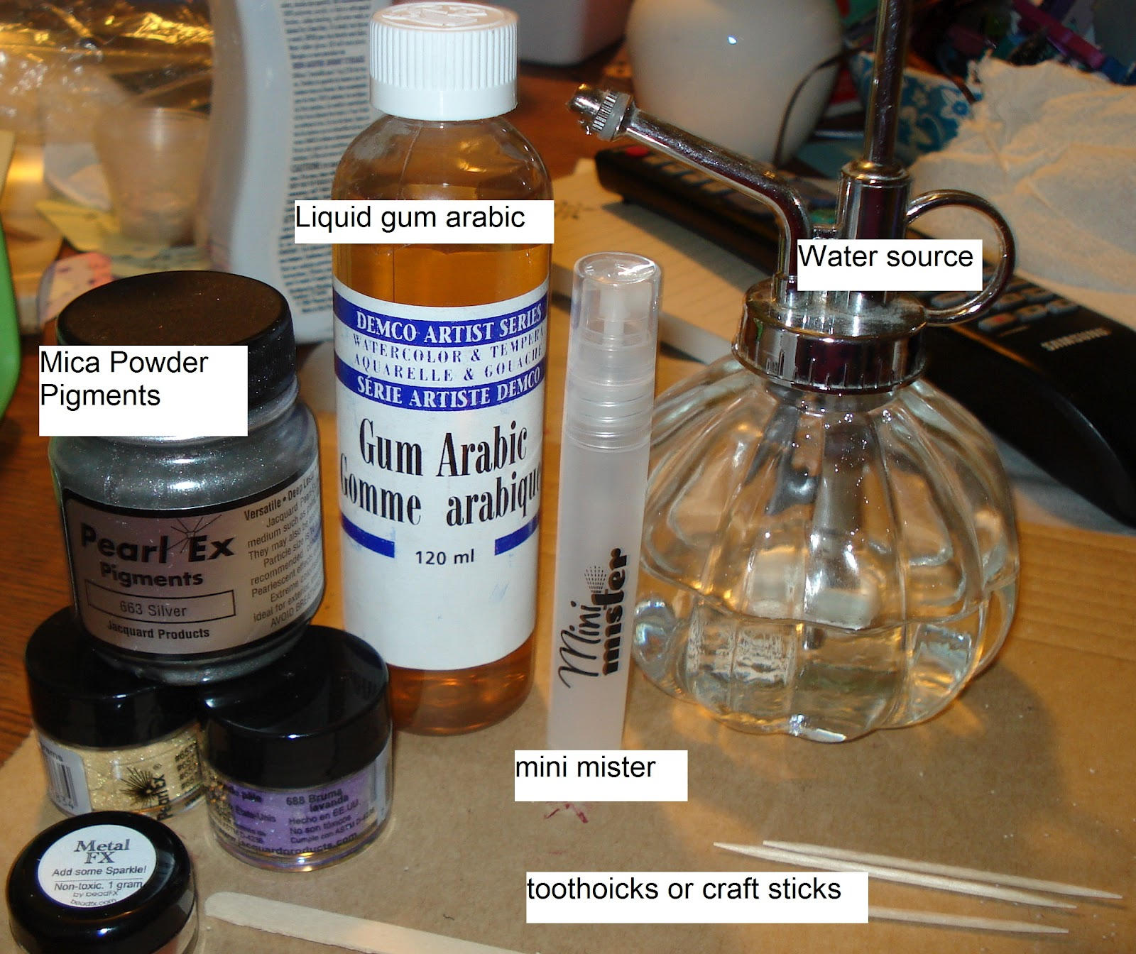 how to make my own spirit gum