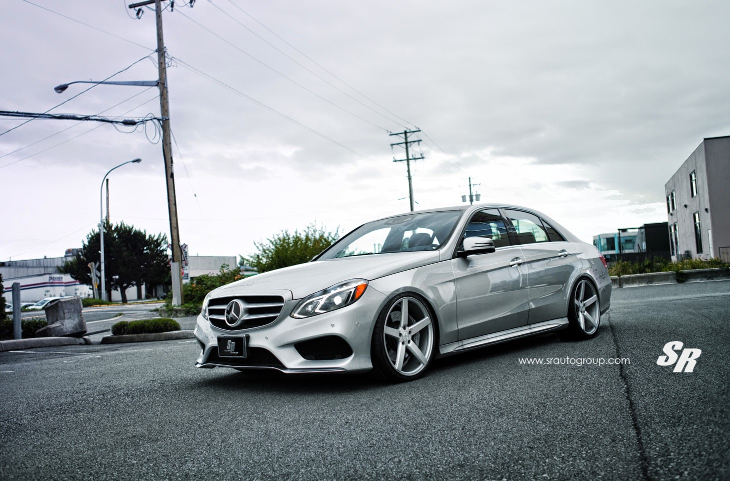 Mercedes Benz W212 E550 On Vossen Wheels Benztuning