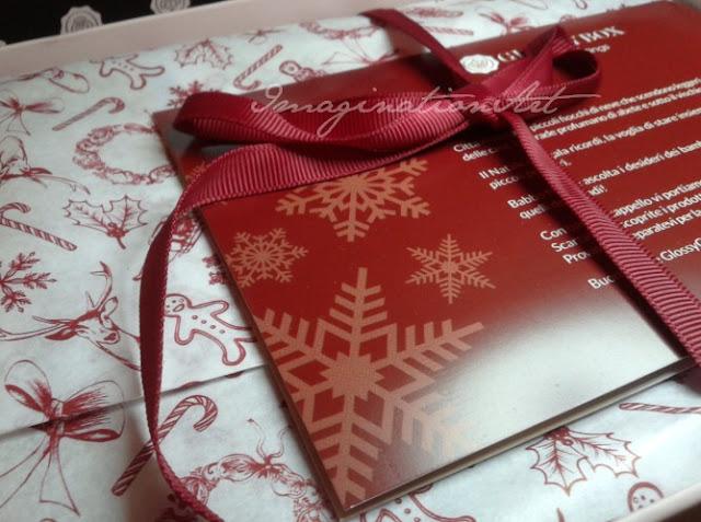 glossybox glossy box natalizia novembre 2012 italiana italy
