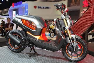 Honda Zoomer-X conceptbike