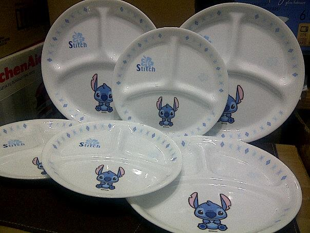 CORELLE Divided plate (loose item) & CORELLE Divided plate (loose item) ~ Shariza Collection