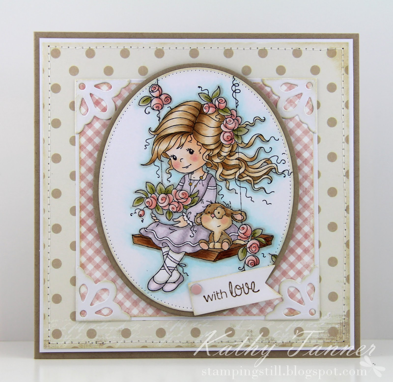 Emily, Sylvia Zet, Whimsy Stamps, everyday moments