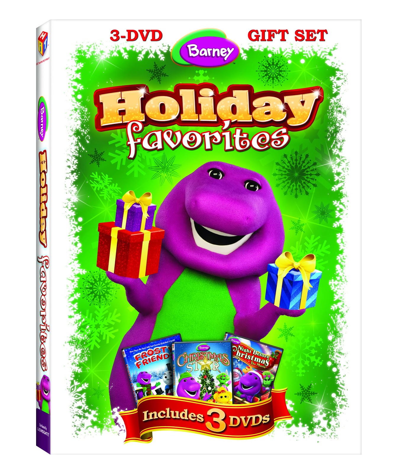 Barney\'s Holiday Favorites 3 Disc Set Review & Giveaway(Ends 11/12 ...