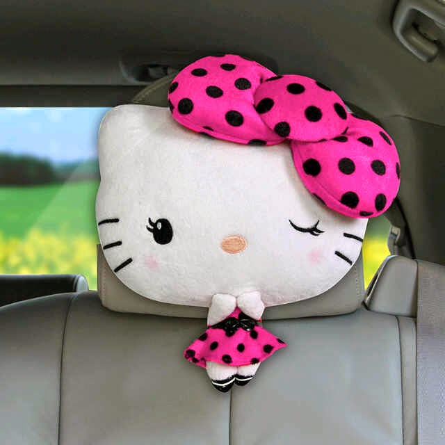 Headrest hello kitty