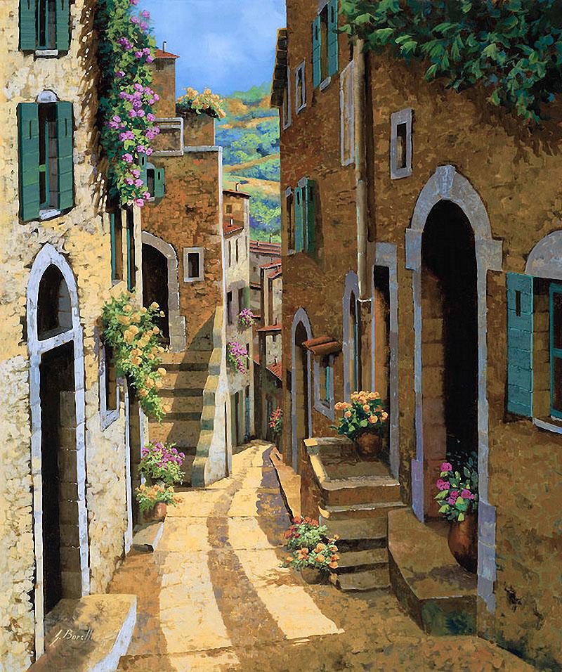 Guido borelli 1952 tutt 39 art pittura scultura for Paesaggi marini dipinti
