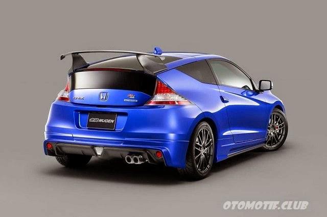 Gambar Honda CR-Z Mugen RZ rear