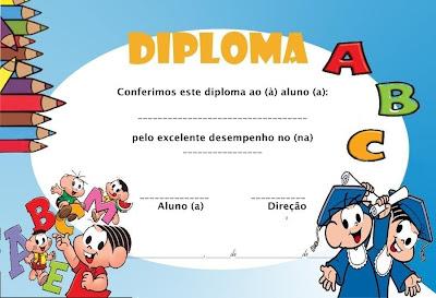 diploma de formatura abc para imprimir atividades da tia anna