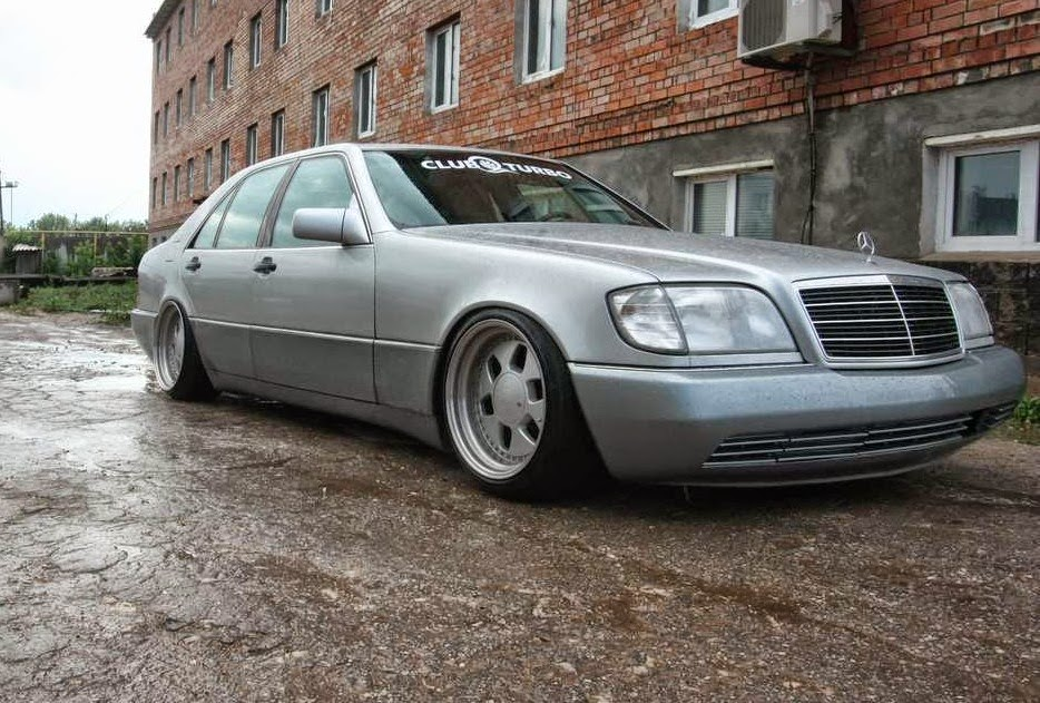 Mercedes benz w140 stance style on mae wheels benztuning for Mercedes benz styles