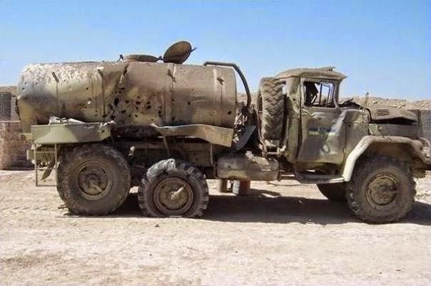 Ірак. Підрив водовоза