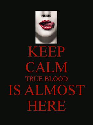 Keep Calm True Blood Is Almost Here beer bottle labels@northmanspartyvamps.com