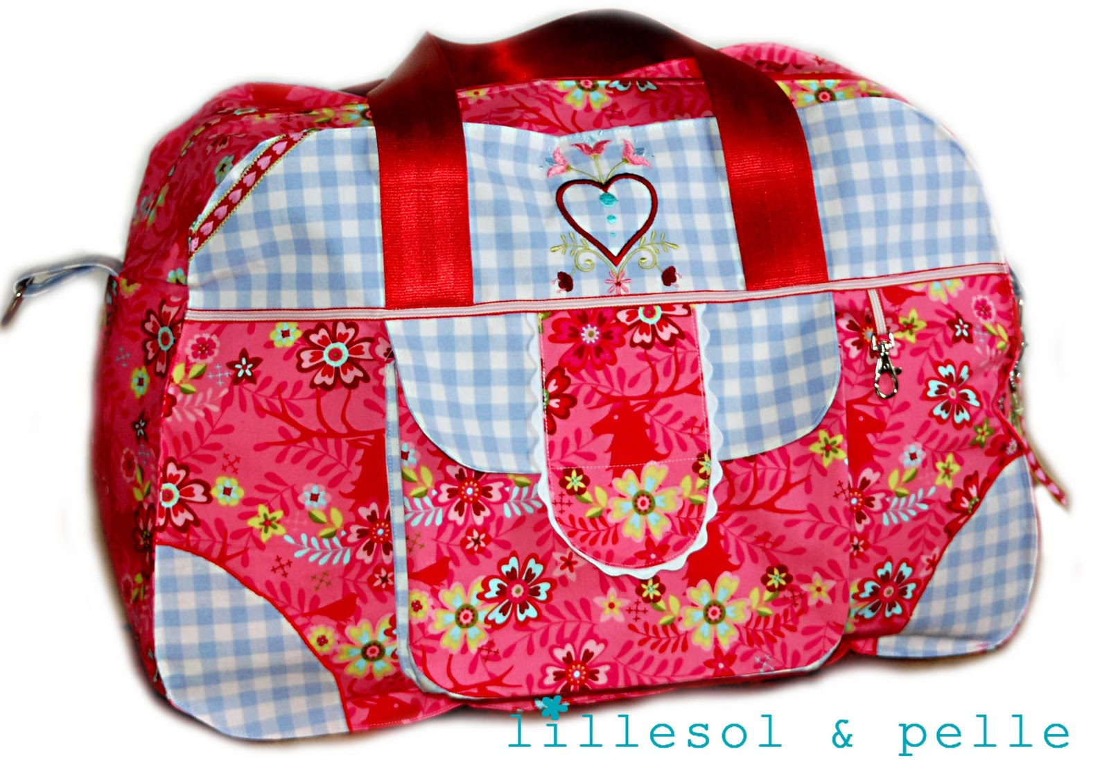 Little Holiday Bag | lillesol & pelle Schnittmuster, Ebooks, Nähen