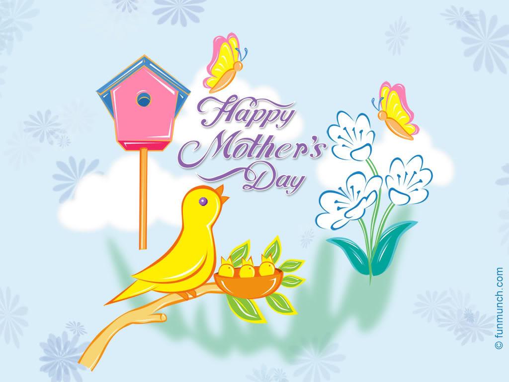 mothers day cartoon wallpapers desktop background wallpapers