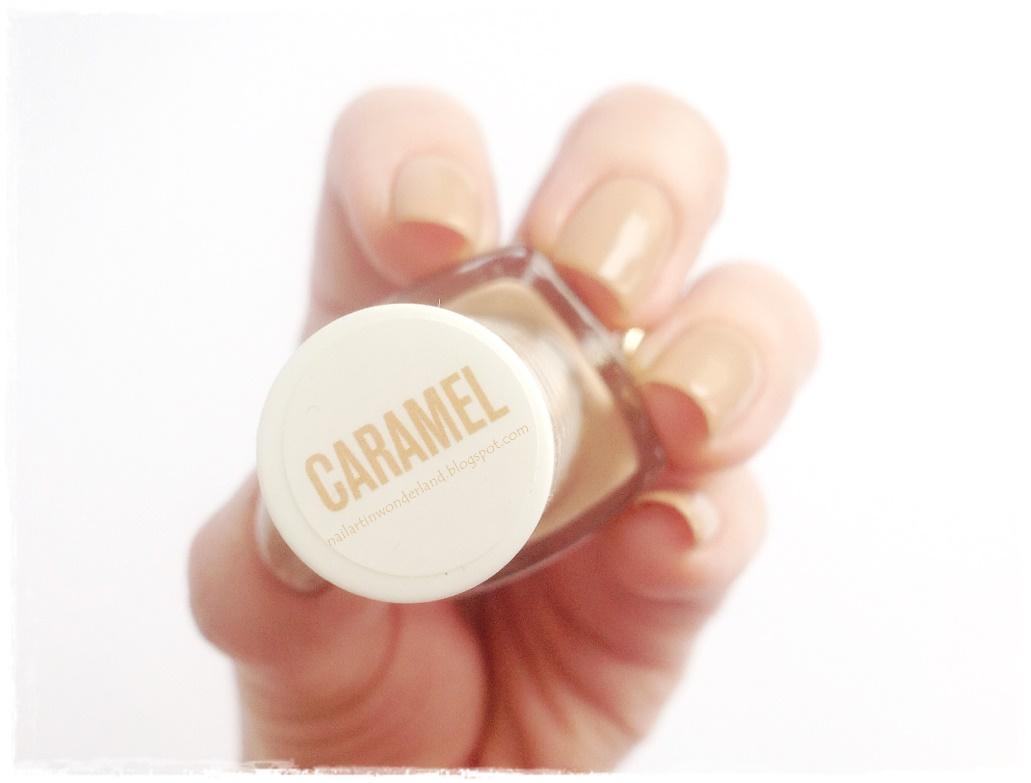 Pastel Nude Oje Serisi 101 Caramel