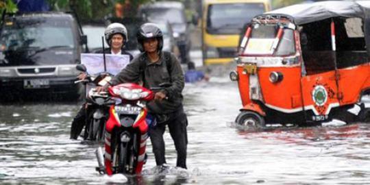 Tips Cara Merawat Motor Setelah Terendam Banjir