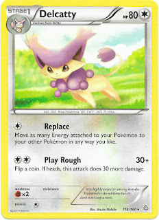 Delcatty Primal Clash Pokemon Card